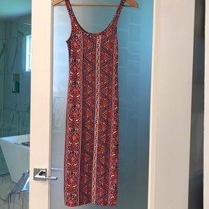 Bodycon mid length dress